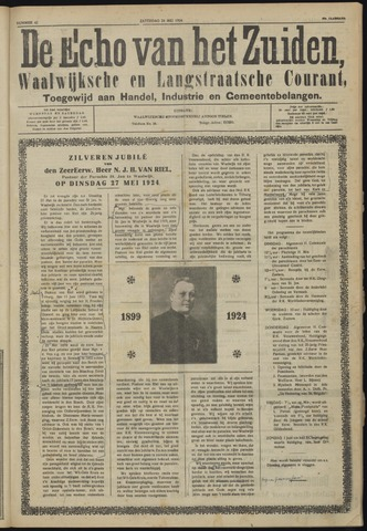 Echo van het Zuiden 1924-05-24