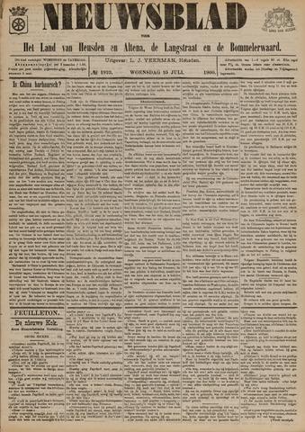 Nieuwsblad het land van Heusden en Altena de Langstraat en de Bommelerwaard 1900-07-25
