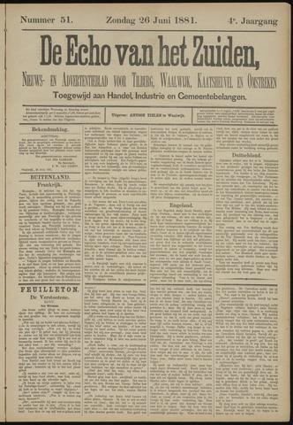 Echo van het Zuiden 1881-06-26