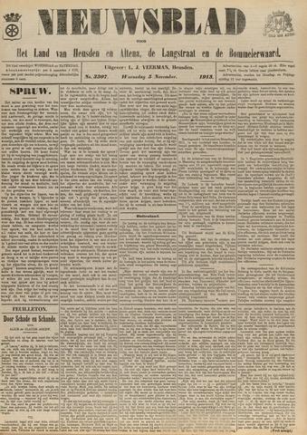 Nieuwsblad het land van Heusden en Altena de Langstraat en de Bommelerwaard 1913-11-05