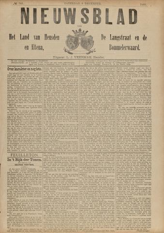 Nieuwsblad het land van Heusden en Altena de Langstraat en de Bommelerwaard 1888-12-08