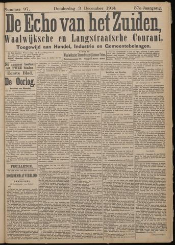 Echo van het Zuiden 1914-12-03