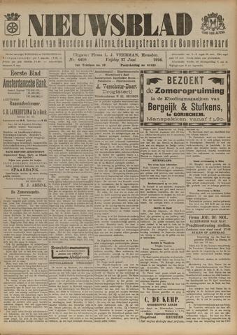 Nieuwsblad het land van Heusden en Altena de Langstraat en de Bommelerwaard 1924-06-27