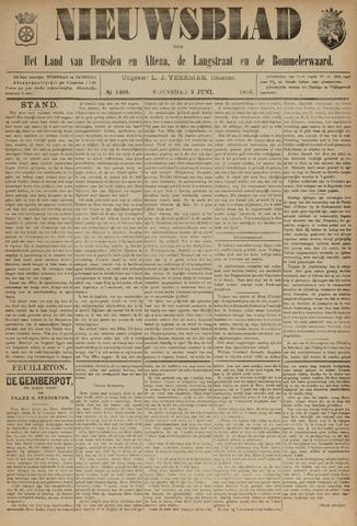 Nieuwsblad het land van Heusden en Altena de Langstraat en de Bommelerwaard 1895-06-05