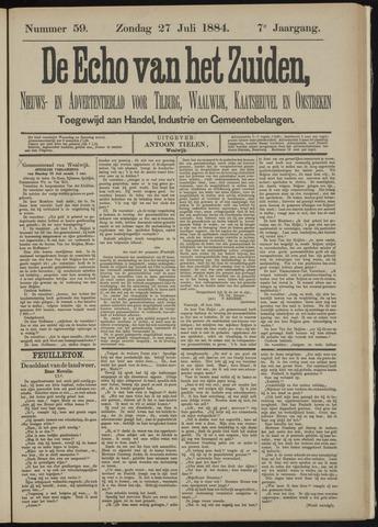 Echo van het Zuiden 1884-07-27