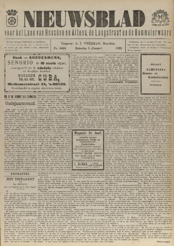 Nieuwsblad het land van Heusden en Altena de Langstraat en de Bommelerwaard 1921-01-01