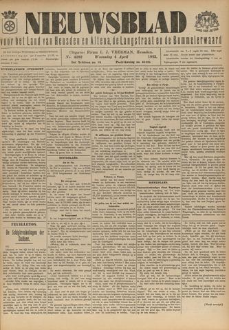 Nieuwsblad het land van Heusden en Altena de Langstraat en de Bommelerwaard 1923-04-04