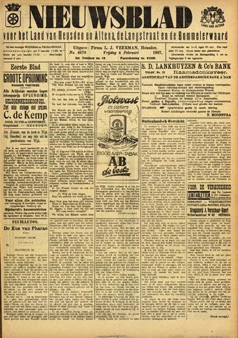 Nieuwsblad het land van Heusden en Altena de Langstraat en de Bommelerwaard 1927-02-04