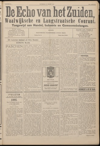 Echo van het Zuiden 1937-03-27