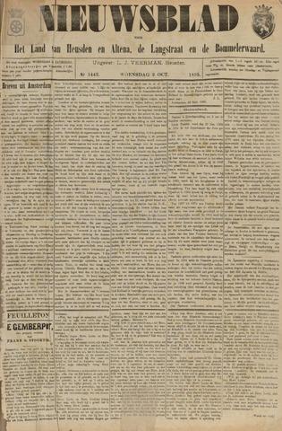 Nieuwsblad het land van Heusden en Altena de Langstraat en de Bommelerwaard 1895-10-02