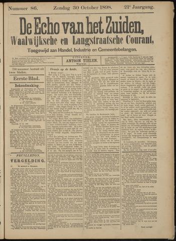 Echo van het Zuiden 1898-10-30