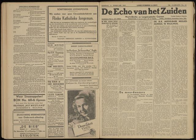 Echo van het Zuiden 1947-02-11