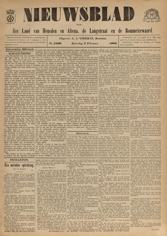 Nieuwsblad het land van Heusden en Altena de Langstraat en de Bommelerwaard 1906-02-03