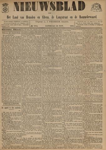 Nieuwsblad het land van Heusden en Altena de Langstraat en de Bommelerwaard 1901-11-30
