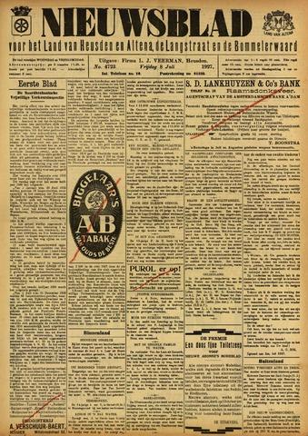 Nieuwsblad het land van Heusden en Altena de Langstraat en de Bommelerwaard 1927-07-08