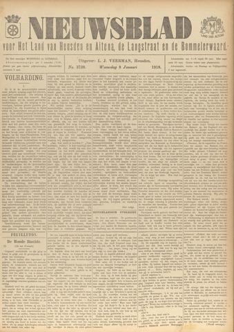 Nieuwsblad het land van Heusden en Altena de Langstraat en de Bommelerwaard 1918-01-08