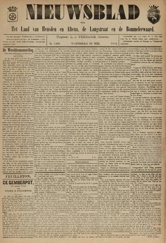 Nieuwsblad het land van Heusden en Altena de Langstraat en de Bommelerwaard 1895-05-29
