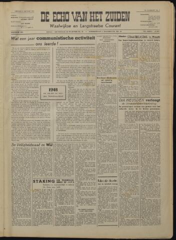 Echo van het Zuiden 1949-01-04