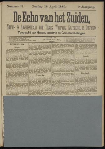 Echo van het Zuiden 1886-04-18