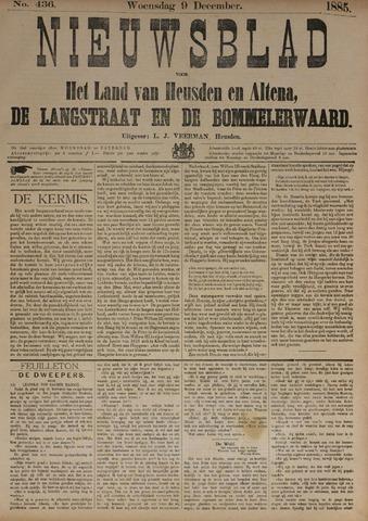 Nieuwsblad het land van Heusden en Altena de Langstraat en de Bommelerwaard 1885-12-09