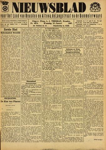 Nieuwsblad het land van Heusden en Altena de Langstraat en de Bommelerwaard 1927-01-19