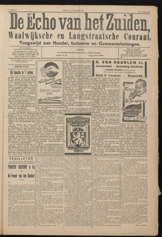 Echo van het Zuiden 1926-12-18