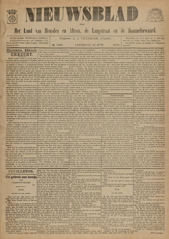 Nieuwsblad het land van Heusden en Altena de Langstraat en de Bommelerwaard 1896-06-13