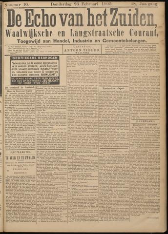 Echo van het Zuiden 1905-02-23