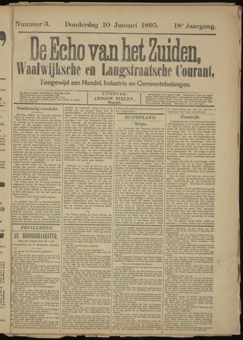 Echo van het Zuiden 1895-01-10