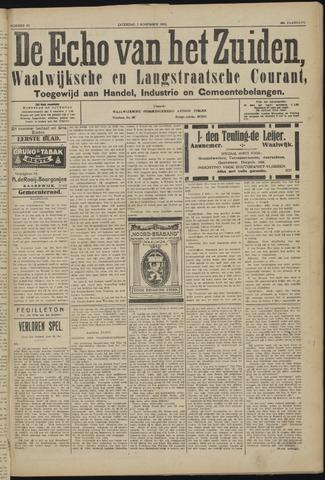 Echo van het Zuiden 1923-11-03