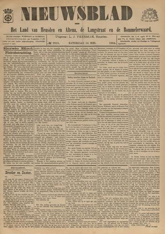 Nieuwsblad het land van Heusden en Altena de Langstraat en de Bommelerwaard 1904-05-14