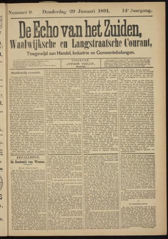 Echo van het Zuiden 1891-01-29
