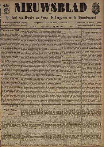 Nieuwsblad het land van Heusden en Altena de Langstraat en de Bommelerwaard 1894-01-31