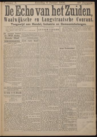 Echo van het Zuiden 1906-01-06