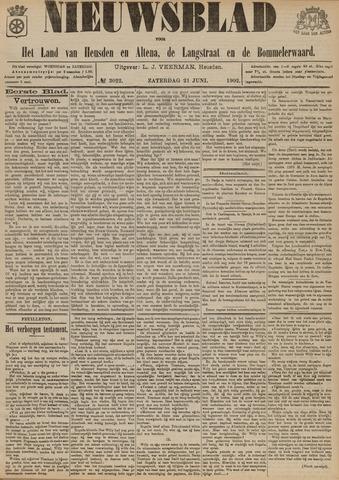 Nieuwsblad het land van Heusden en Altena de Langstraat en de Bommelerwaard 1902-06-21