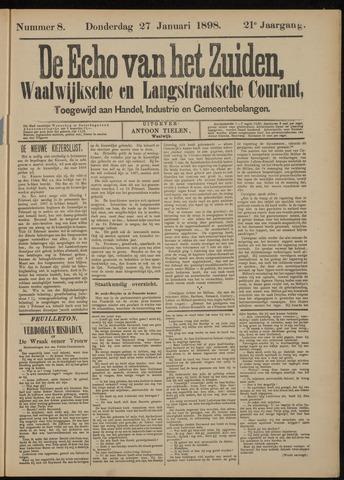 Echo van het Zuiden 1898-01-27