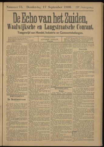 Echo van het Zuiden 1896-09-17