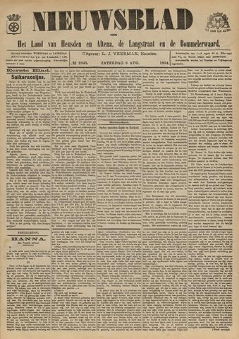 Nieuwsblad het land van Heusden en Altena de Langstraat en de Bommelerwaard 1904-08-06