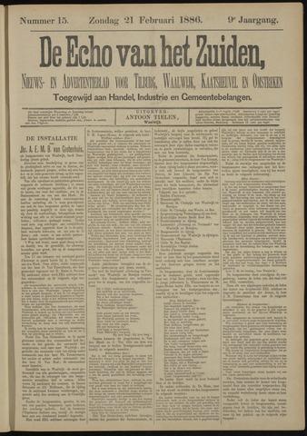 Echo van het Zuiden 1886-02-21