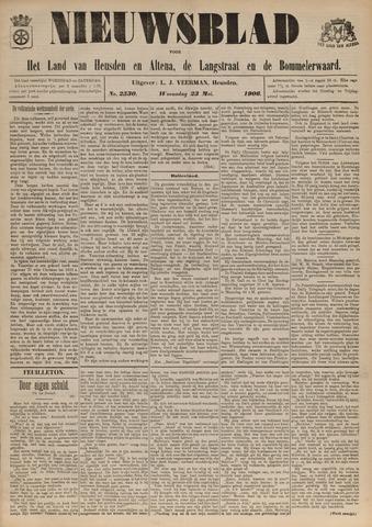 Nieuwsblad het land van Heusden en Altena de Langstraat en de Bommelerwaard 1906-05-23