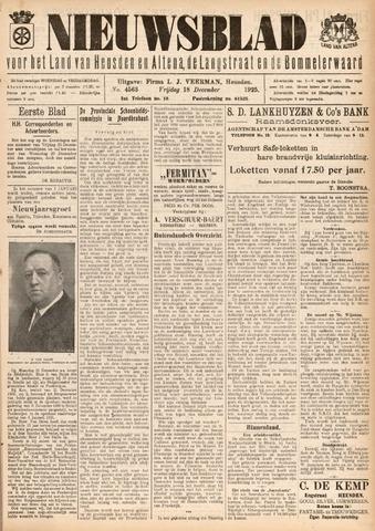 Nieuwsblad het land van Heusden en Altena de Langstraat en de Bommelerwaard 1925-12-18