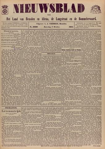 Nieuwsblad het land van Heusden en Altena de Langstraat en de Bommelerwaard 1911-10-07