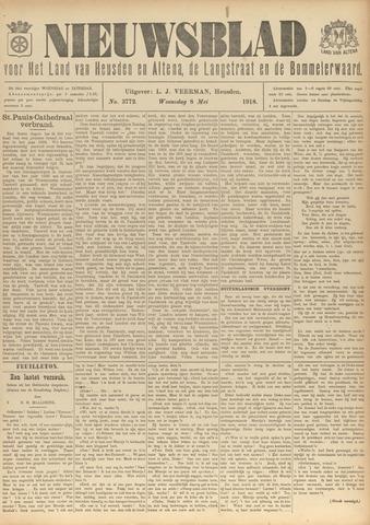 Nieuwsblad het land van Heusden en Altena de Langstraat en de Bommelerwaard 1918-05-08