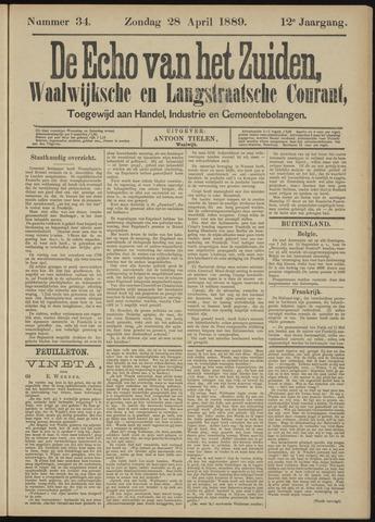 Echo van het Zuiden 1889-04-28