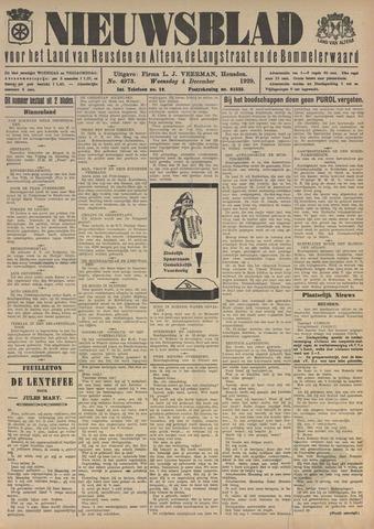 Nieuwsblad het land van Heusden en Altena de Langstraat en de Bommelerwaard 1929-12-04