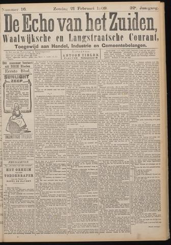 Echo van het Zuiden 1909-02-21