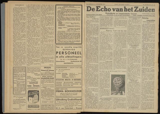 Echo van het Zuiden 1947-08-21