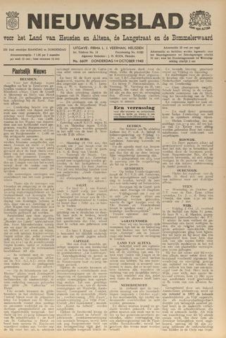 Nieuwsblad het land van Heusden en Altena de Langstraat en de Bommelerwaard 1948-10-14