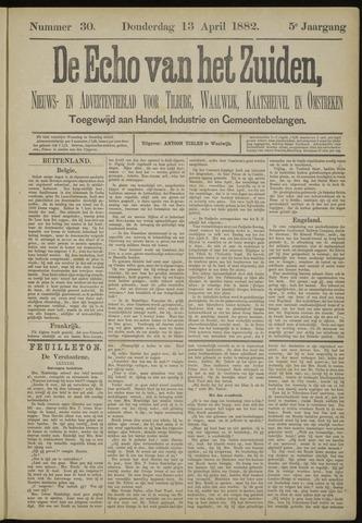 Echo van het Zuiden 1882-04-13