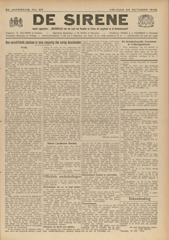 De Sirene 1945-10-26